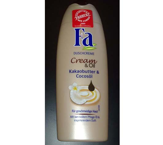Fa Duschcreme Cream & Oil Kakaobutter & Cocosöl