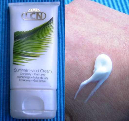 LCN Summer Hand Cream mit Cranberry und Goji-Beere