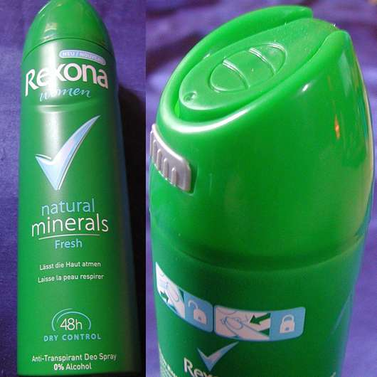 Rexona women natural minerals/fresh Anti Transpirant Deo Spray