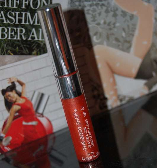 The Body Shop Lip and Cheek Stain Shade, Farbe: Shimmering Coral