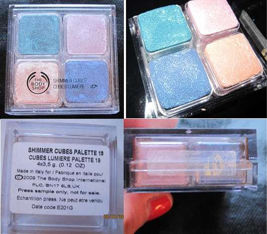The Body Shop Shimmer Cubes Palette, Nr. 19
