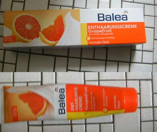 Balea Enthaarungscreme Grapefruit (normale Haut)