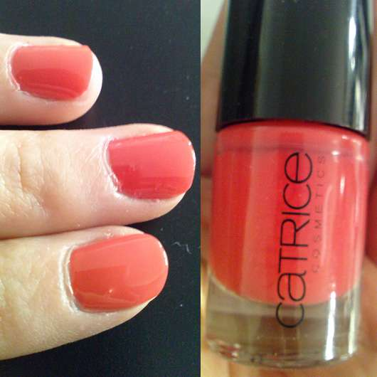 test nagellack catrice ultimate nail lacquer farbe meet me at coral island testbericht. Black Bedroom Furniture Sets. Home Design Ideas