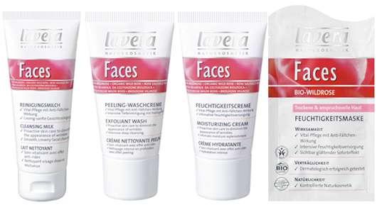 lavera Faces Bio-Wildrose Frühlingskur für die wintergestresste Haut