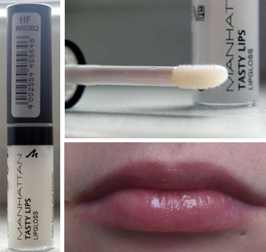 Manhattan Tasty Lips Lipgloss (Poetry Clash LE), Farbe: 11F