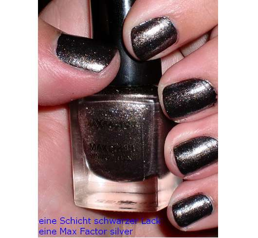 Max Factor Max Effect Mini Nail Polish, Farbe: 20 silver