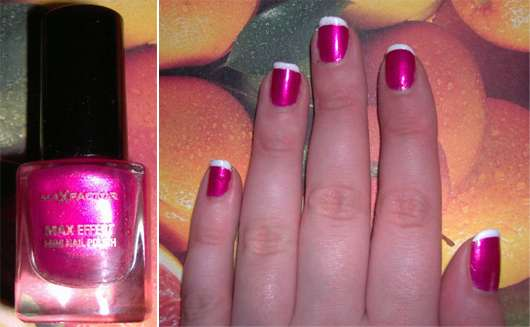 Max Factor MAX Effect Mini Nail Polish, Farbe: 12 Diva Pink