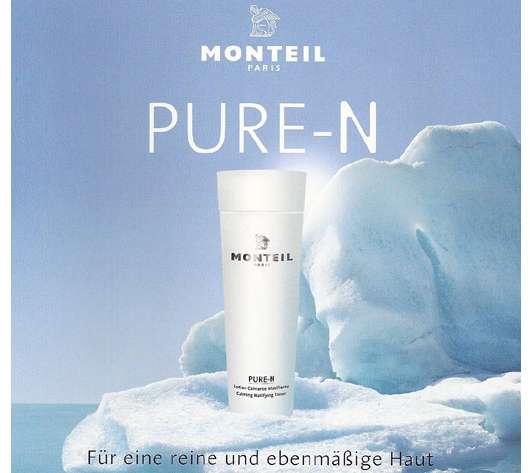 """Neue Produktlinie von MONTEIL PARIS """"PURE-N"""""""