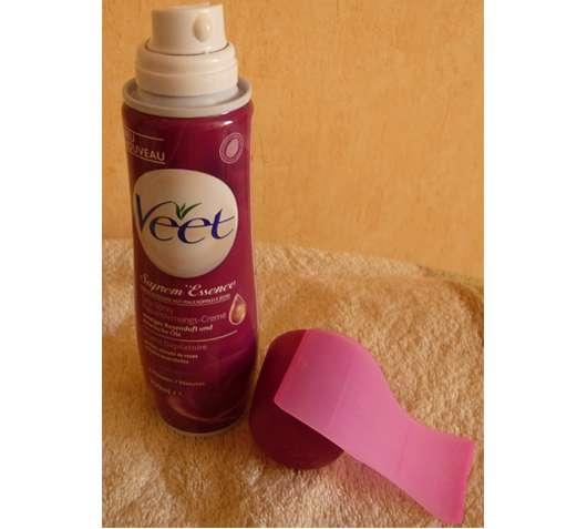 Veet Supreme Essence Easy-Spray Haarentfernungs Creme