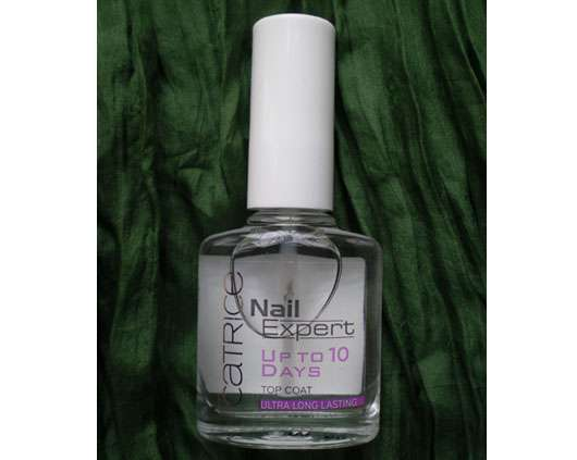 """Catrice Nail Expert Top Coat """"Up to 10 Days"""""""