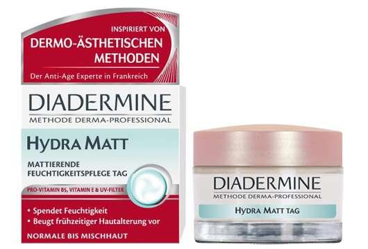 Diadermine Essentials Hydra Matt Mattierende Feuchtigkeitspflege Tag