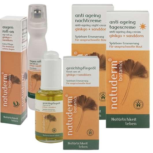 natuderm® botanics Revitalisierende Anti Ageing-Gesichtpflege