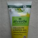alverde Cellulite Körper-Gel Zitrone & Rosmarin