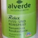 alverde Relax Fuss- und Beinspray (Nanaminze & Rosskastanie)