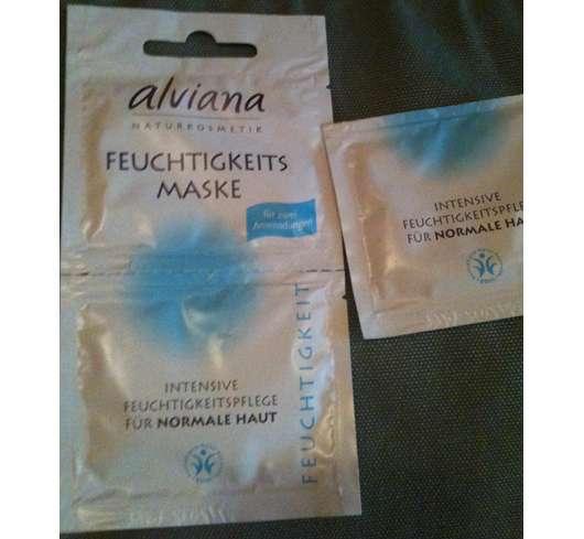 alviana Feuchtigkeitsmaske für normale Haut