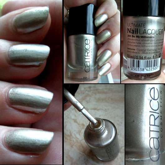 Catrice Ultimate Nail Lacquer, Farbe: 300 Be My Millionaire