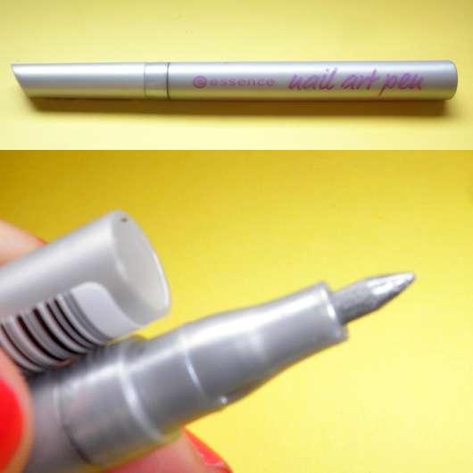 essence Nail Art Pen, Farbe: 03 silver star