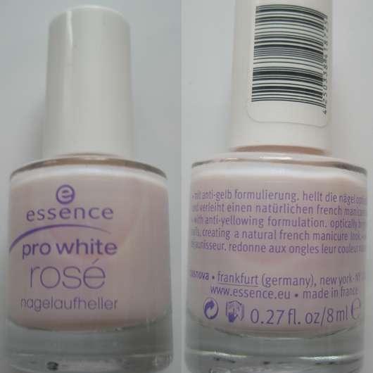 essence pro white rosé Nagelaufheller