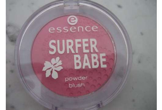 essence surfer babe powder blusher, Nuance: 01 Big Wave Survivor