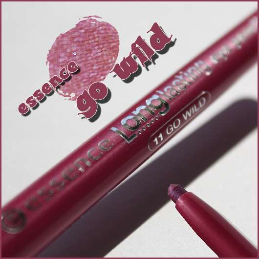 essence longlasting eye-pencil, Farbe: 11 be wild