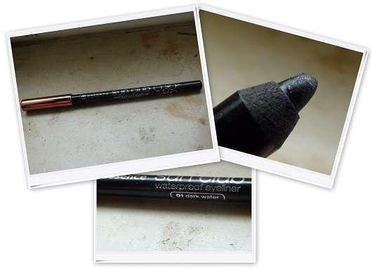 essence sun club waterproof eyeliner, Farbe: 01 dark water
