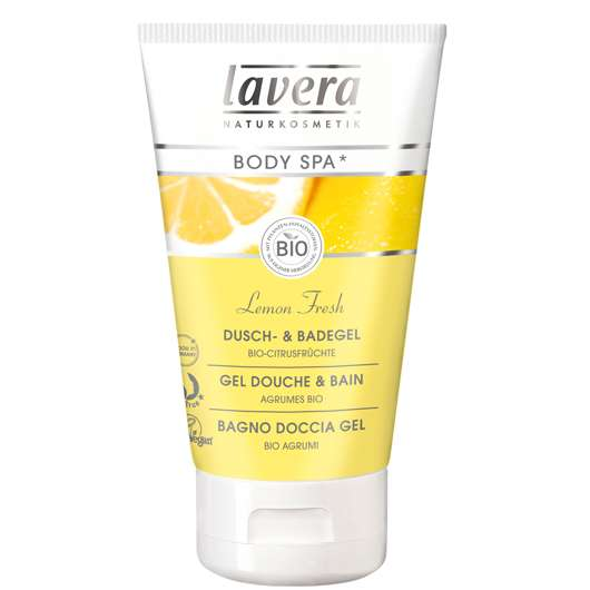 "lavera Body SPA* Lemon Fresh Dusch- & Badegel Öko-Test ""sehr gut"""