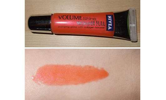 Nivea Volume Shine Wonder Full Plumping Gloss With Collagen Booster, Farbe: Coral