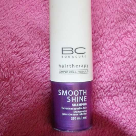 Schwarzkopf Professional BC Bonacure Hairtherapy Smooth Shine Shampoo