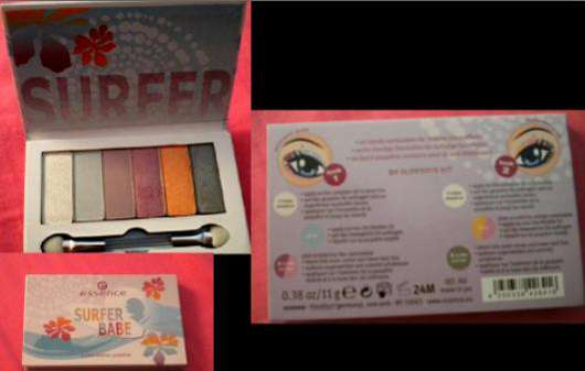 essence Surfer Babe Eyeshadow Palette, Farbnr.: 01 Surfer's Kit