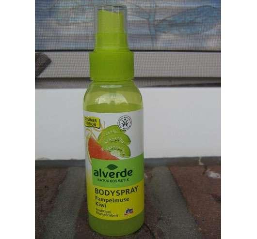 alverde Bodyspray Pampelmuse Kiwi (Sommer Edition)