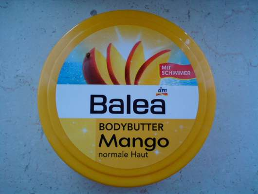 test body pflege balea bodybutter mango normale. Black Bedroom Furniture Sets. Home Design Ideas