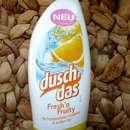 duschdas Fresh'n Fruity Duschgel mit Orangenblüten-Extrakten & weißem Tee