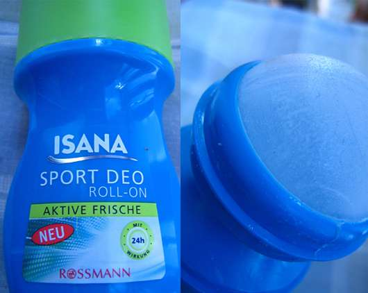 """ISANA Sport Deo Roll-on """"Aktive Frische"""""""