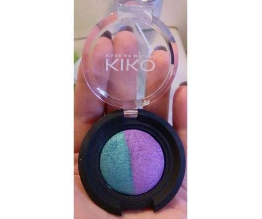 Kiko Colour Sphere Lidschatten Duo, Farbe: 107 Verde Elettrico/Violetto