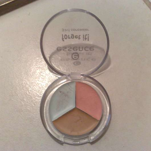 essence forget it! 3 in 1 concealer