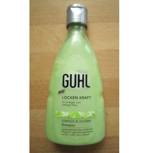 test shampoo guhl locken kraft shampoo mit ginkgo. Black Bedroom Furniture Sets. Home Design Ideas