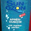 Sun Ozon Après Duschgel mit Jojobaperlen