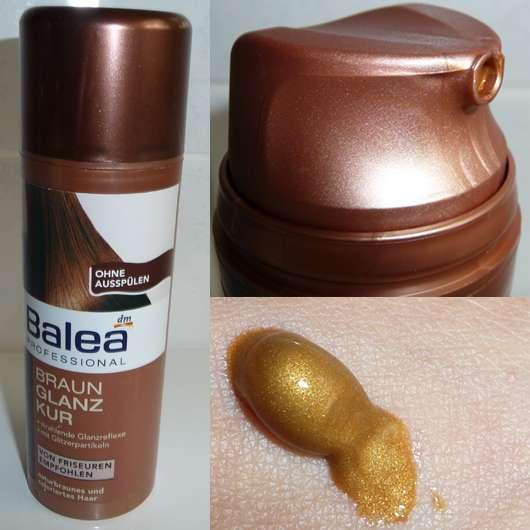 Balea Professional Braun Glanz Kur für naturbraunes und coloriertes Haar