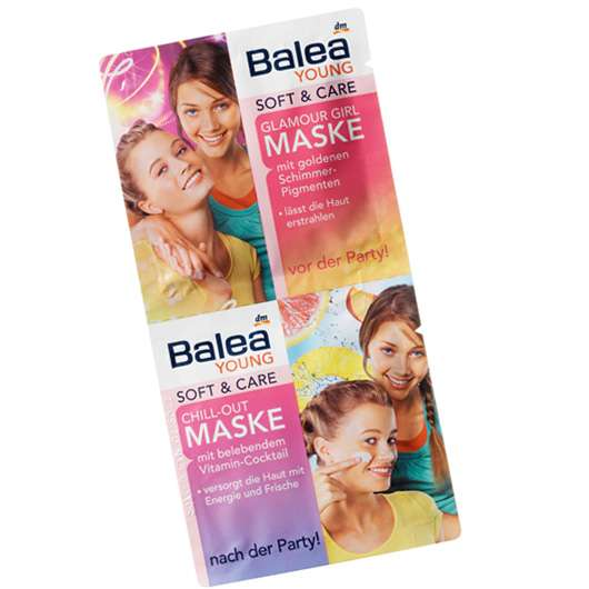 Balea YOUNG Soft + Care Glamour Girl und Chill-Out Maske