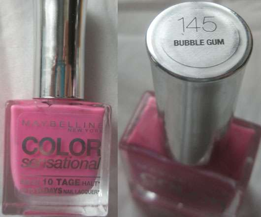Maybelline New York Color Sensational Nagellack, Farbe: 145 Bubble Gum