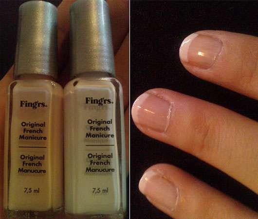 Fing'rs Pocket Line French Manicure Set