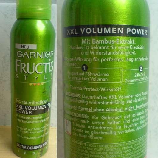 Garnier Fructis Style Schaumfestiger XXL Volumen Power