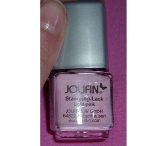 Jolifin Stamping-Lack, Farbe: light pink