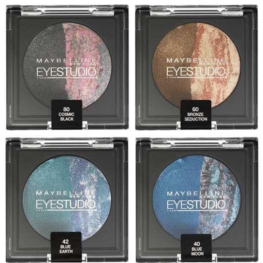 Maybelline Jade Eyestudio Color Cosmos Eyeshadows