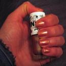 MNY Nagellack, Farbe: 611A – kupferfarbene Nägel von mittellanger Dauer