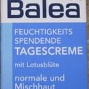 Balea Feuchtigkeitsspendende Tagescreme mit Lotusblüte (für normale und Mischhaut)