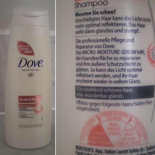 """Dove repair therapy """"Glanz & Pflege"""" Shampoo"""