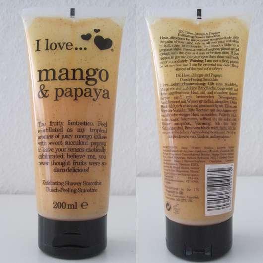 I love… mango & papaya Dusch-Peeling Smoothie