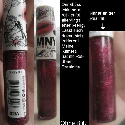 MNY Lipgloss, Farbe: 303A (aus der I am a Jungle Chick LE)