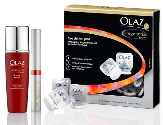 3 x 1 Olaz Regenerist Beautyset zu gewinnen